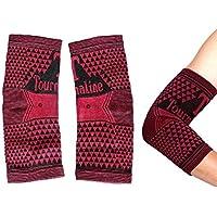 ALW CZs.r.o. TOURMALIN Ellenbogen Bandage Ellenbogen gelenkschoner Kompression Bandage Stütz Bandage 2 Stück preisvergleich bei billige-tabletten.eu