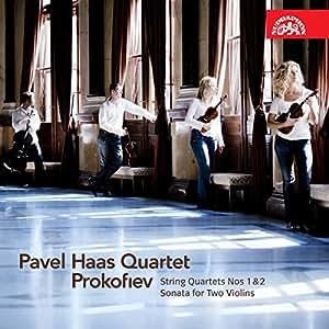 Prokofiev : Quatuors à cordes n° 1 et n° 2 - Sonate pour 2 violons