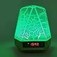 LEDMOMO Mini Multi-Color Blitz LED Lichtwecker Licht Wireless Bluetooth Lautsprecher Wecker Stereo Subwoofer mit... preisvergleich bei billige-tabletten.eu