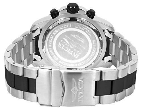 Invicta Pro Diver Men's Chronograph Quartz Watch with Stainless Steel Bracelet – 22416