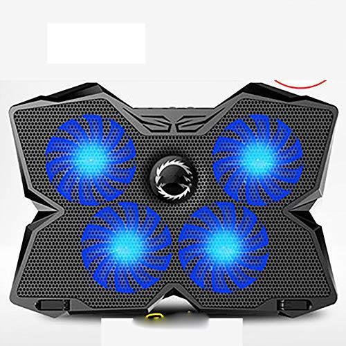 INEP Laptop Cooling Pad, schnelle Kühlventilator Laptop-Ständer mit 4 Lüftern, 1200 RPM-USB-Ventilator