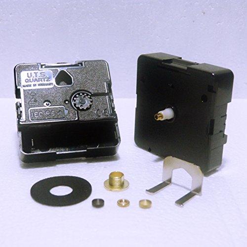 UTS Euroshaft, meccanismo di sostituzione per orologio con movimento al quarzo (lunghezza albero: 11mm) Minute Hand Fixing Nut Gold Open