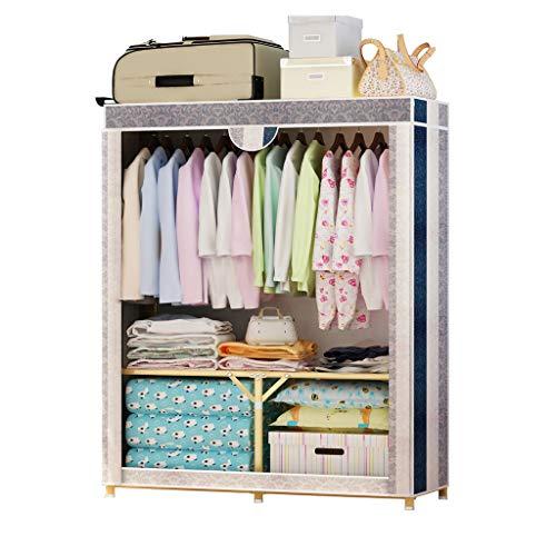 Qi Peng Garderobenständer Kleiderbügel Schrank Schrank Montage Garderobenschrank Kleiderschrank