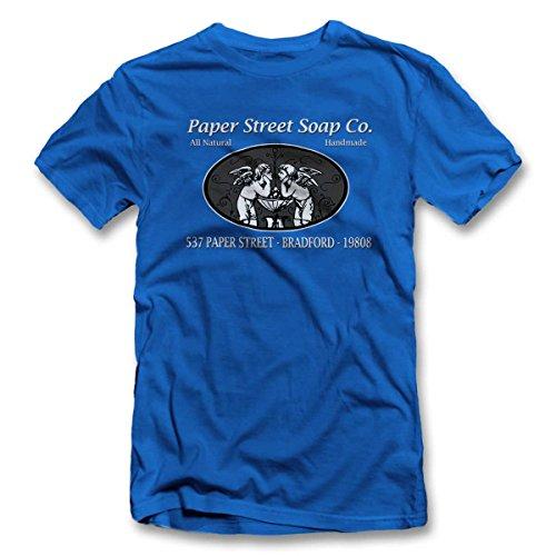 Paper Street Soap Company T-Shirt S-XXL 12 Farben / Colours Royal Blau