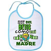 Babero Real Betis soy del Betis como mi madre