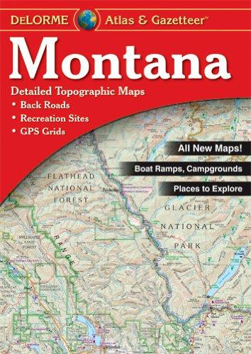 Delorme Montana (Delorme Atlas & Gazetteer)
