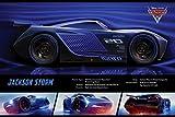 Disney Autos 3 'Jackson Storm Stats' Maxi Poster, 61 x 91.5 cm