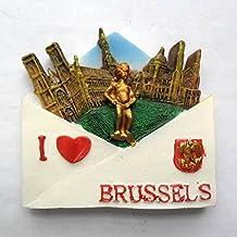 Bruselas Turquía famoso souvernir imán para nevera, hogar y cocina decoración