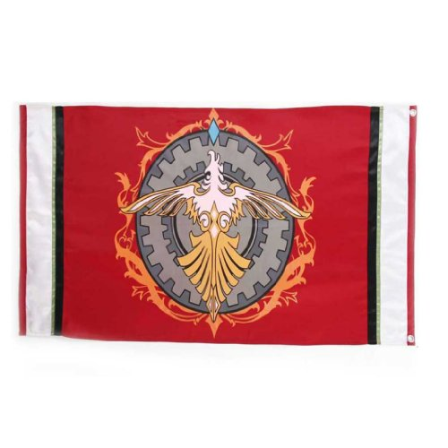 Final Fantasy Type-0 The Suzaku magic academy Flag The Suzaku magic academy Flag (Final Fantasy Flag)