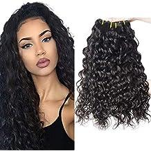 Clarolair brasiliano capelli ricci bundle Water Wave capelli fasci  brasiliani capelli bundle 100% capelli umani 44027b332f86
