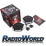 "Vibe Slick 6 Comp Car Audio Component 2 Way Speakers Set 6.5"" 270W"