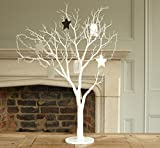 Large White Wishing Artificial Tree