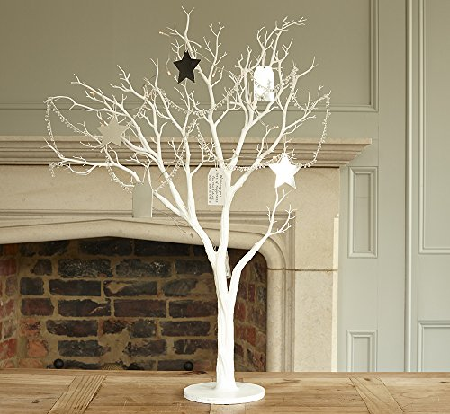Large White Wishing Artificial Tree