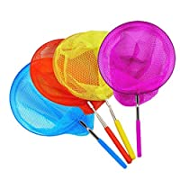 Home Décor Items, Patio, Lawn & Garden 4PCS Kids Telescopic Butterfly Net Fishing Nets Insect Net Extendable 34 InchTelescopic Net, Ramadan Multicolor