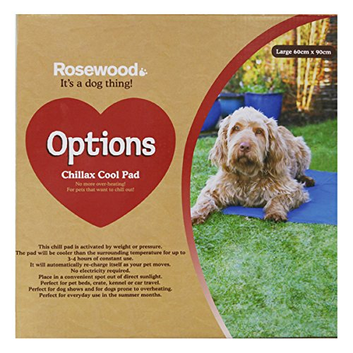 Rosewood Chillax Cool Pad, Large, 60 x 90 cm Best Price and Cheapest