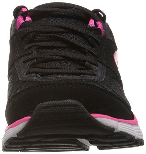 bkhp Skechers Perfeito Ajuste Damen Agilidade Sneakers Schwarz wEqYrEZx