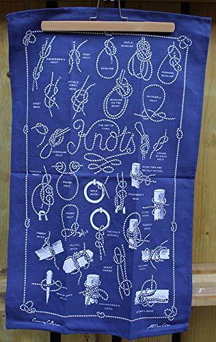 Geschirrtuch Knots of the Sea Marineblau