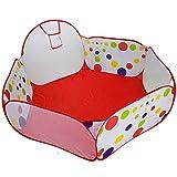 Lalawow Piscine à balles pour bébé enfant (Avec un panier)