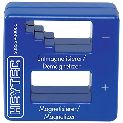 HEYTEC 50833900000 Magnetisierer & Entmagnetisierer, blau