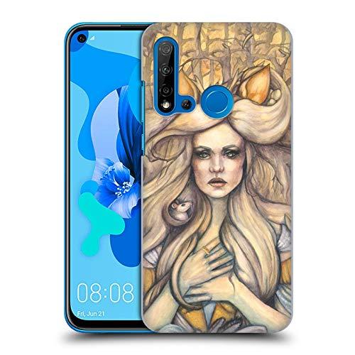 Head Case Designs Offizielle Tiffany Tito Toland-Scott Aschenputtel Mit Tiere Myth Harte Rueckseiten Huelle kompatibel mit Huawei P20 Lite (2019) -
