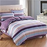 Puro algodón solo duvet cover/Otoño e invierno algodón edredón individual/ cómodo y respirable edredón-H 200x230cm(79x91inch)