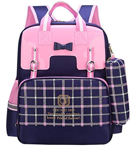 (MYXUA Rucksack Für Mädchen Schule Daypack Fashion Rucksack Spaß Funky Rucksack Schultasche,Blue2-OneSize)