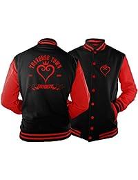 Traverse Town University Varsity Jacket inspired by Kingdom Hearts cUCvWWvI