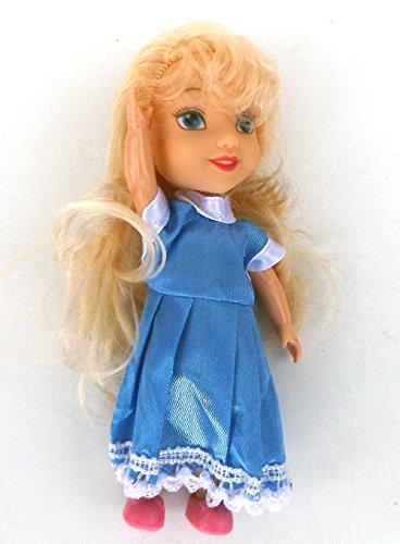 5 Stück MyFairy Minis© Prinzessinnen Puppe mit Puppenkleidung, 11cm - 3