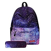Galaxy School Bag Backpack for Teen Teenage Girls Kids TM2622HP