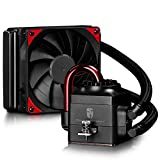 Deepcool Captain 120 EX 120mm Extreme Performance All-In-One Liquid CPU Cooler, AM4 Compatible, Black, 3-year Warranty