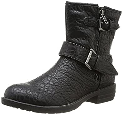 Pieces Uta Boot, Boots femme - Noir (Black), 38 EU