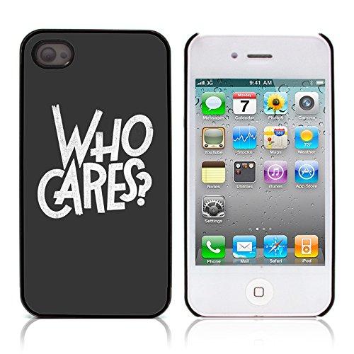 Graphic4You Happies And Crappies Englisch Zitat Nachricht Harte Hülle Case Tasche Schutzhülle für Apple iPhone 4 und 4S Design #1