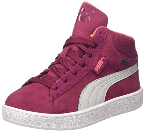 Puma Unisex-Kinder 1948 Mid GTX PS Hohe Sneaker, Rot (Red Plum-Gray Violet), 29 EU - Mid Sneakers Mädchen
