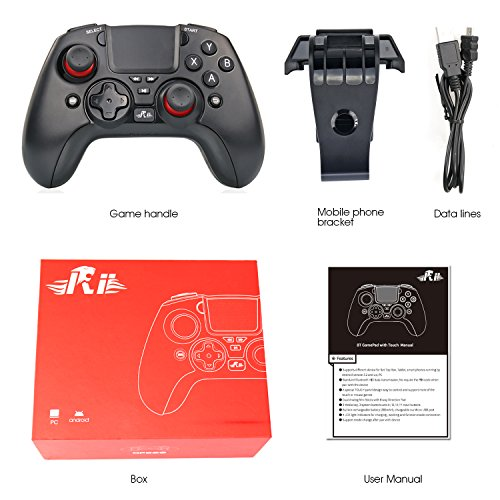 Rii Android Bluetooth Wireless Gamepad Game Controller With Touch