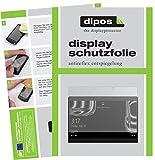 dipos I 2X Schutzfolie matt passend für Porsche Design Book One 13,3 Zoll Folie Bildschirmschutzfolie