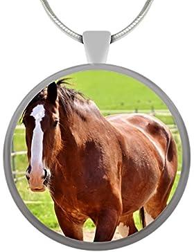 Halskette Pferd Katze Hund mit deinem Wunschmotiv GESCHENK
