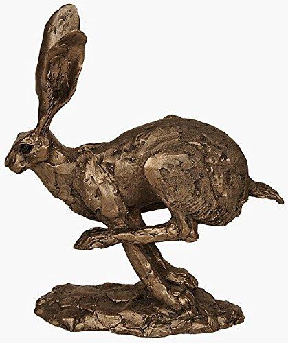 """Neue """"Hurricane Hase Running von Kalten gegossene Bronze-Skulptur Ornament von Paul Jenkins Frith"""
