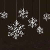 Decorazioni Natalizie Fiocchi Di Neve.Amazon It Decorazioni Natalizie Addobbi Fiocco Di Neve Neve