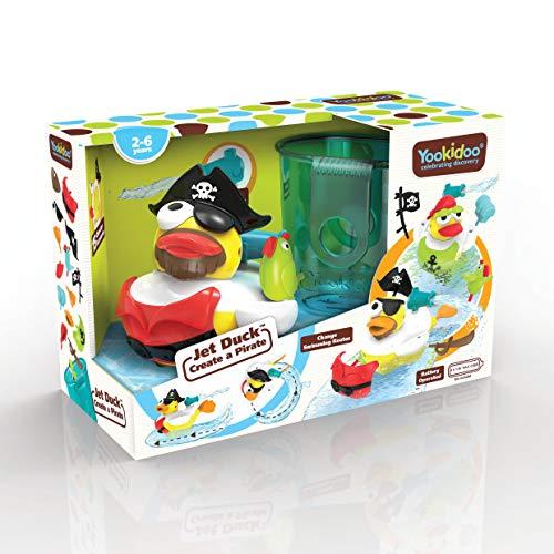 YOOKIDOO - Jet duck caneton pirate - canard de bain - multicolore