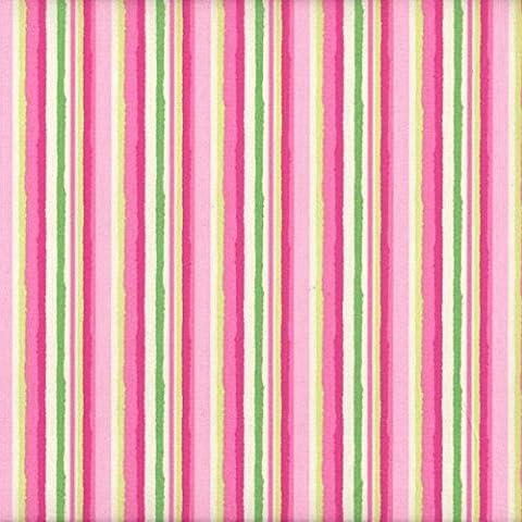 Tessuto rosa, verde, magenta e beige verdastro