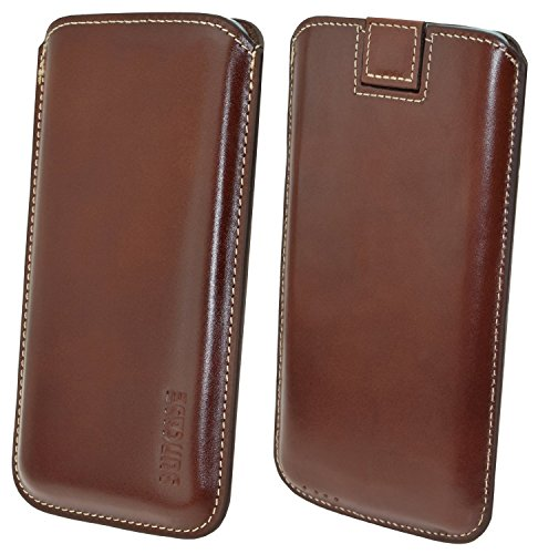 "Suncase étui pour iPhone 6 (4,7 "") en cuir ultra slim *top couleurs - 20 marron"