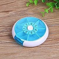 Xinfang Wöchentliche Pill Box 3 mal 7 Fächer große Medizin Veranstalter (blau) preisvergleich bei billige-tabletten.eu