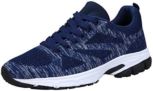 50a4369bdc990 KOUDYEN Men Women Running Shoes Sports Trainers Walking Jogging Fitness Gym  Sneakers
