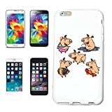 Phone Case Samsung Galaxy S5 Mini FUNNY PIGS IN THE MUD AND THE