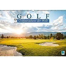 Golf: Golfparadiese der Welt (Wandkalender 2016 DIN A3 quer): Wie gemalt - Golf- und Landschaftsarchitektur (Monatskalender, 14 Seiten) (CALVENDO Sport)