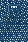 Baby Log Book: Baby Breastfeeding Formula Diaper And Mood Tracker Cute Heart Pattern