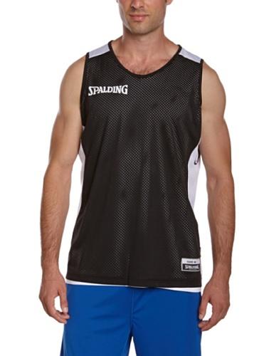 Spalding Teamtrikots & Sets Essential Reversible Shirt, schwarz/weiß, M, 300201402
