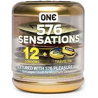 ONE 576 Sensations - 12 genoppte Kondome inkl. Box preisvergleich bei billige-tabletten.eu