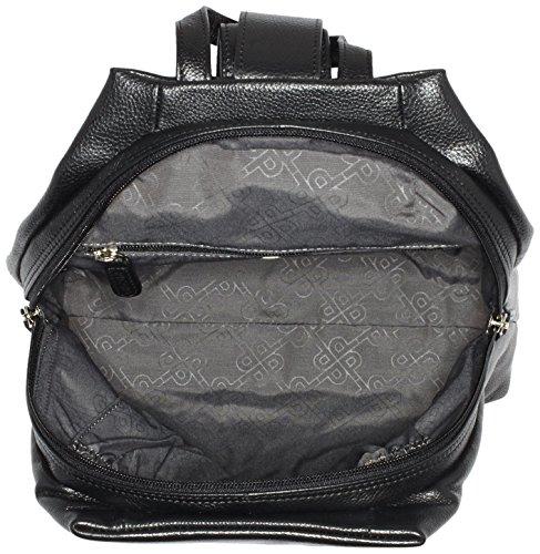 Picard Damen Luis Rucksackhandtaschen, 25x30x9 cm Schwarz (Schwarz)