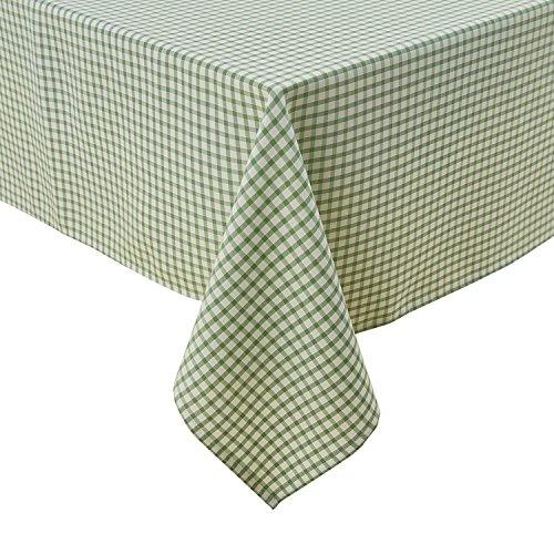 Wasserabweisend Tischwäsche Lotuseffekt Tischtücher 130x280 cm Grün ()
